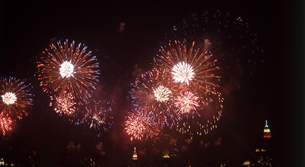 独立記念日の花火の写真素材 [FYI00088521]