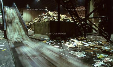 リサイクル工場の写真素材 [FYI00088526]