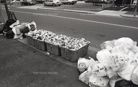 ゴミの分別の写真素材 [FYI00088545]