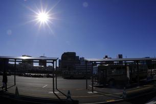 辻堂駅バスターミナルの写真素材 [FYI00088559]