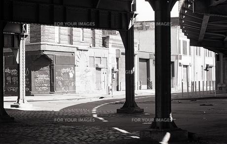 ブルックリンの倉庫街の写真素材 [FYI00088579]