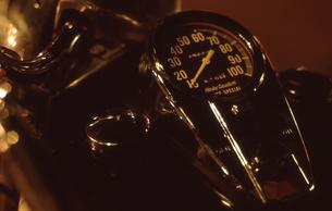 バイクのスピードメーターの写真素材 [FYI00088672]
