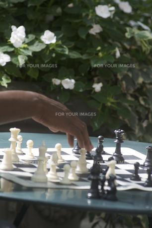 チェスの写真素材 [FYI00088718]