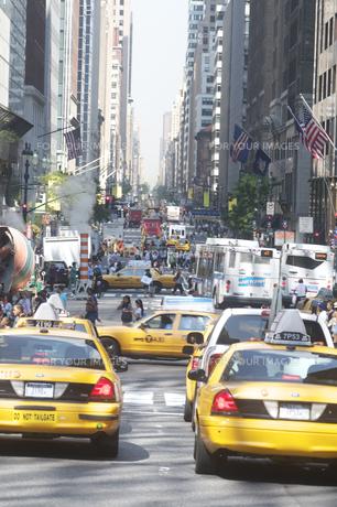 ニューヨーク交通渋滞の写真素材 [FYI00088725]