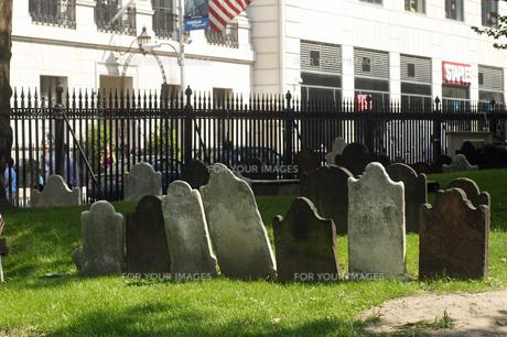 外国の墓地の写真素材 [FYI00088731]