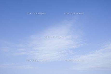 青空と雲の素材 [FYI00088756]