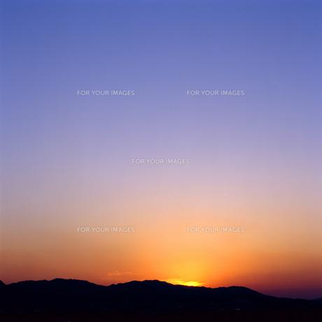 青空と雲の素材 [FYI00088877]