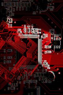 赤と黒のコントラストがイケてる携帯待受けの写真素材 [FYI00088941]