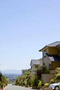 郊外の住宅の写真素材 [FYI00088951]
