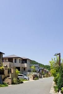 郊外の住宅地の写真素材 [FYI00088955]