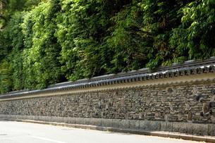 再現・博多塀(はかたべい)の写真素材 [FYI00088957]