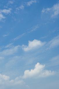 青空と夏の雲の写真素材 [FYI00088963]