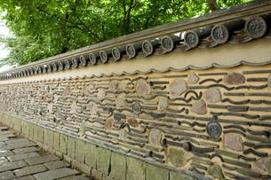 再現・博多塀(はかたべい)の写真素材 [FYI00088968]