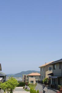 郊外の住宅の写真素材 [FYI00088969]