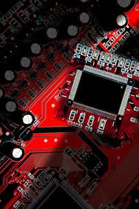 赤と黒の携帯待ち受けイメージの写真素材 [FYI00088992]