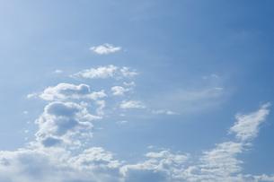 青空と雲の写真素材 [FYI00089008]