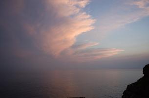 壱岐の夜明けの写真素材 [FYI00089035]