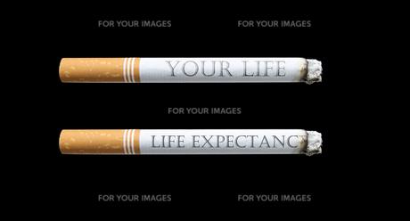 禁煙タバコの素材 [FYI00089086]