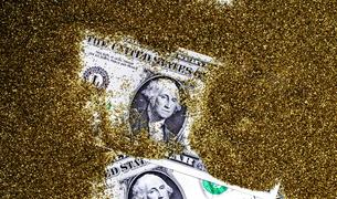 1ドル紙幣の写真素材 [FYI00089156]