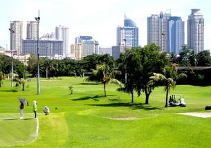 イントラムロス ゴルフ' コースの写真素材 [FYI00089271]