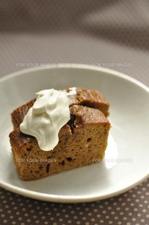 コーヒーパウンドケーキの写真素材 [FYI00089397]