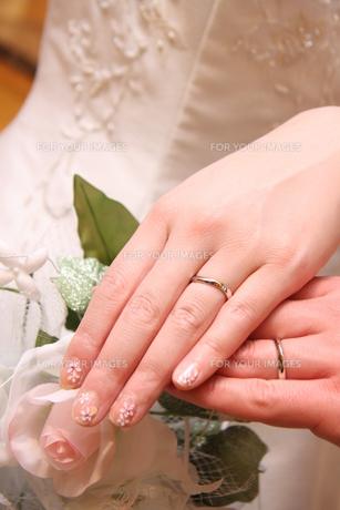 結婚指輪の写真素材 [FYI00089419]