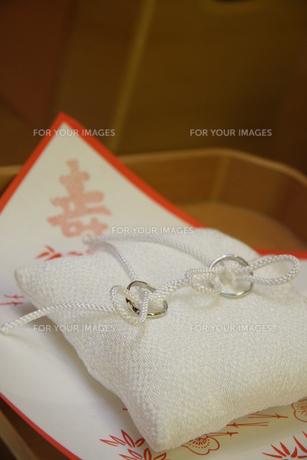 結婚指輪の写真素材 [FYI00089460]