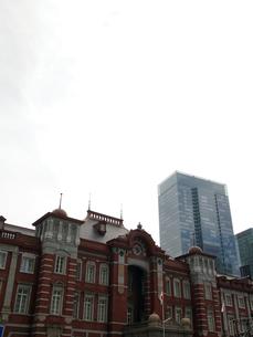 東京駅新駅舎の写真素材 [FYI00089490]