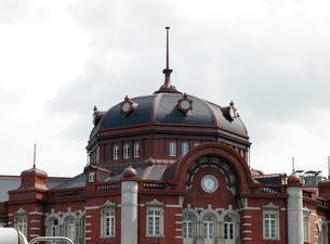 東京駅新駅舎の写真素材 [FYI00089492]