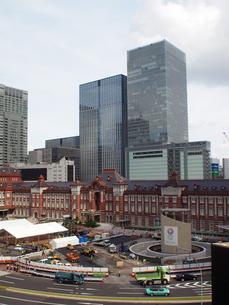 東京駅新駅舎の写真素材 [FYI00089494]