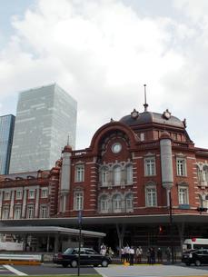 東京駅新駅舎の写真素材 [FYI00089498]