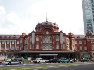 東京駅新駅舎の写真素材 [FYI00089500]