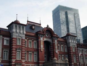 東京駅新駅舎の写真素材 [FYI00089514]