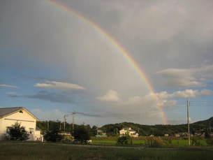 虹の写真素材 [FYI00089521]