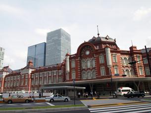 東京駅新駅舎の写真素材 [FYI00089524]