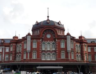 東京駅新駅舎の写真素材 [FYI00089542]