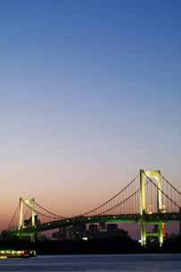 レインボーブリッジ-夜景20の写真素材 [FYI00089614]