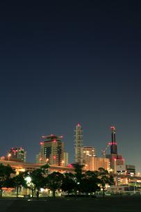 神戸三宮の夜景3の写真素材 [FYI00089622]