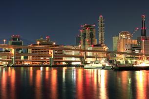 神戸三宮の夜景2の写真素材 [FYI00089654]