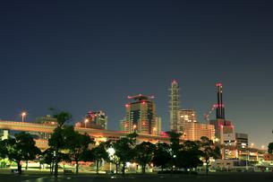 神戸三宮の夜景4の写真素材 [FYI00089660]