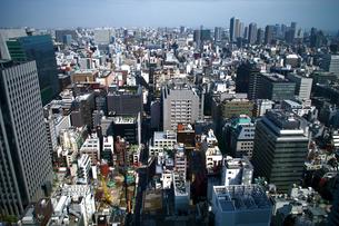 東京のビル群-横の写真素材 [FYI00089676]