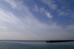 淡路島-堤防(横)の写真素材 [FYI00089700]