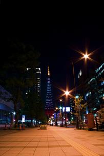 東京タワー/黄金色の夜景の写真素材 [FYI00089725]
