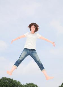 Princess MAIKO Benicio in the SKYの写真素材 [FYI00090281]