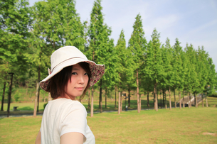 Princess MAIKO Benicio/レディース・ハットの写真素材 [FYI00090404]