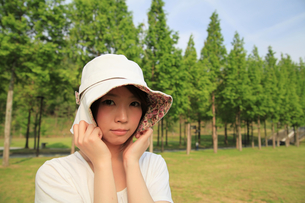 Princess MAIKO Benicio/レディース・ハットの写真素材 [FYI00090469]