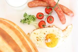 朝食セットの写真素材 [FYI00090687]