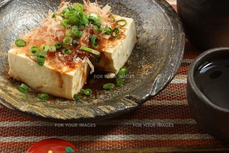 豆腐料理の写真素材 [FYI00090703]