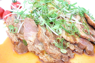 焼き豚の写真素材 [FYI00090732]