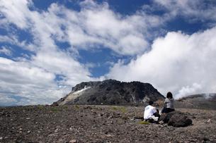 樽前山溶岩ドームの写真素材 [FYI00090783]